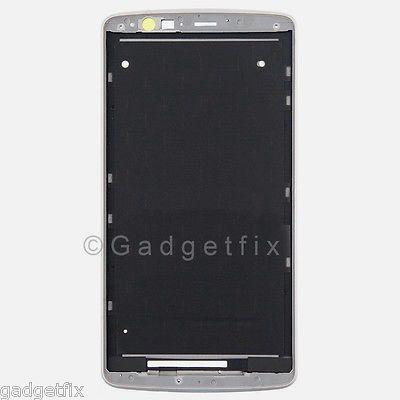 USA White LG G3 LS990 VS985 Middle Housing Chassis LCD Touch Holder Frame Bezel