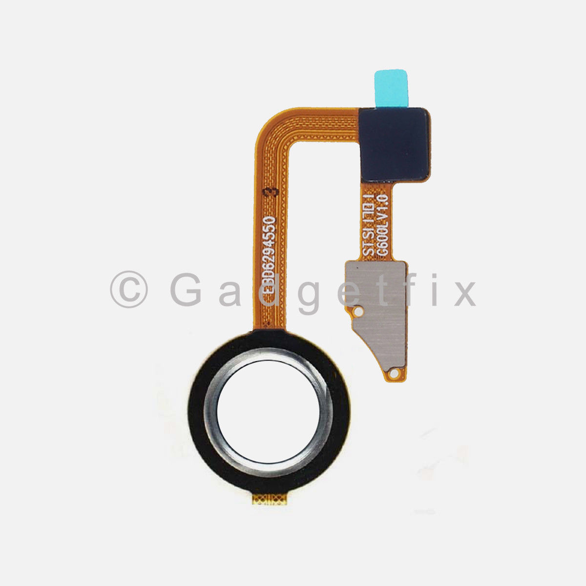 White LG G6 H870 H871 H872 Power Home Button Fingerprint Sensor Flex Cable