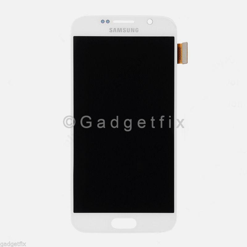 White Samsung Galaxy S6 G920A G920V G920P G920T LCD Touch Screen Digitizer A