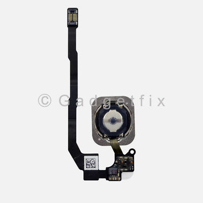 White iPhone SE Home Button Flex Cable Fingerprint Touch ID Sensor Connector