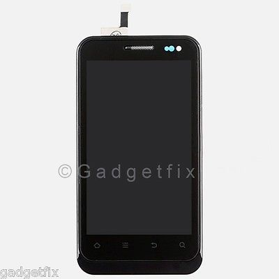 USA ZTE Engage V8000 LCD Display Touch Screen Digitizer Glass + Frame Assembly