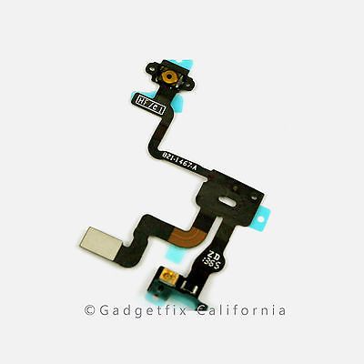 USA proximity light sensor power button flex cable ribbon parts for iphone 4S