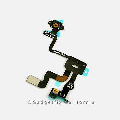 USA proximity light sensor power button flex cable ribbon parts for iphone 4S