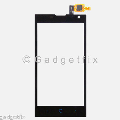US Black ZTE Blade G Lux V830W Kis 3 Max Touch Screen Digitizer Glass Lens Parts