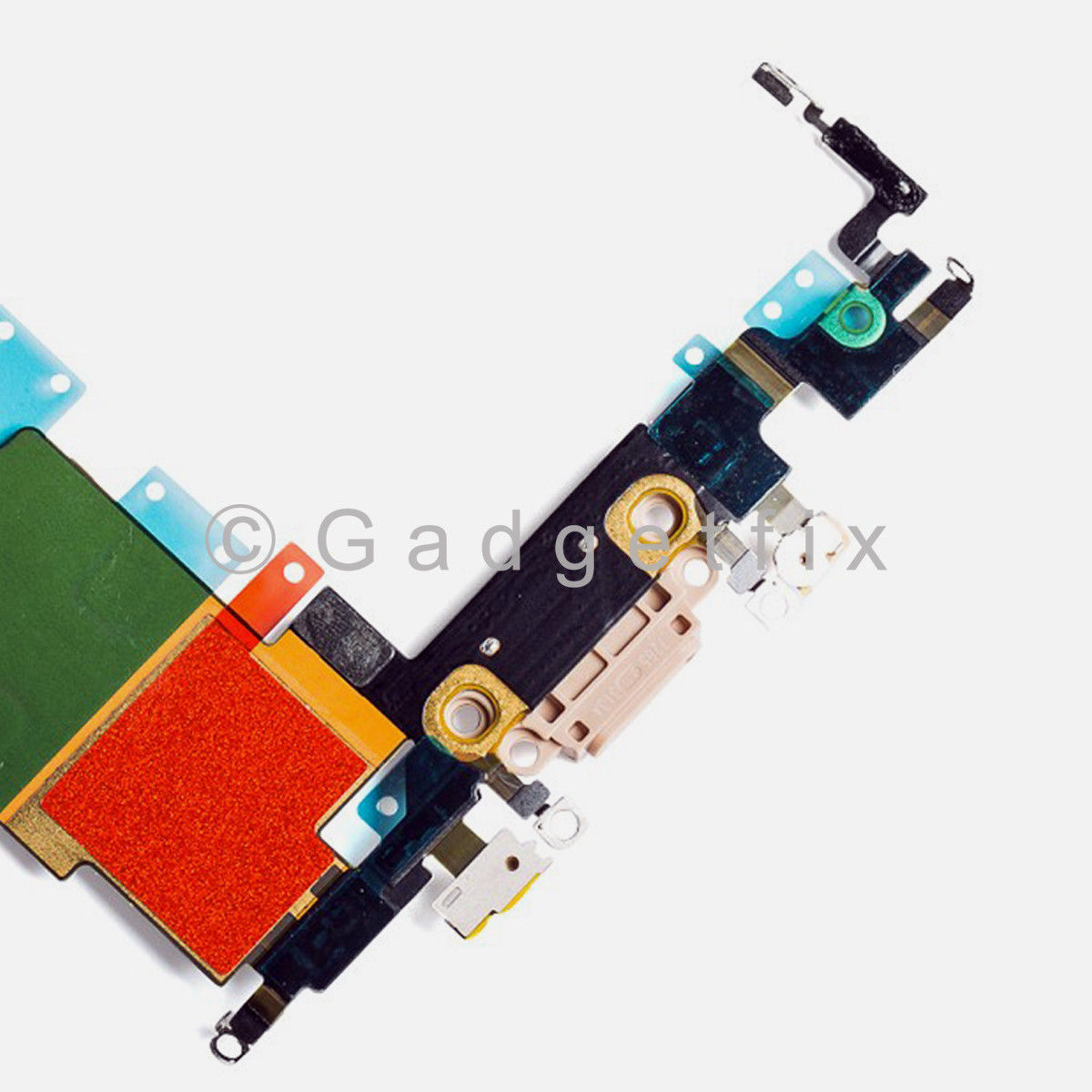 Gold Lightning Charger Charging Port Dock Flex Cable Replacement For iPhone 8