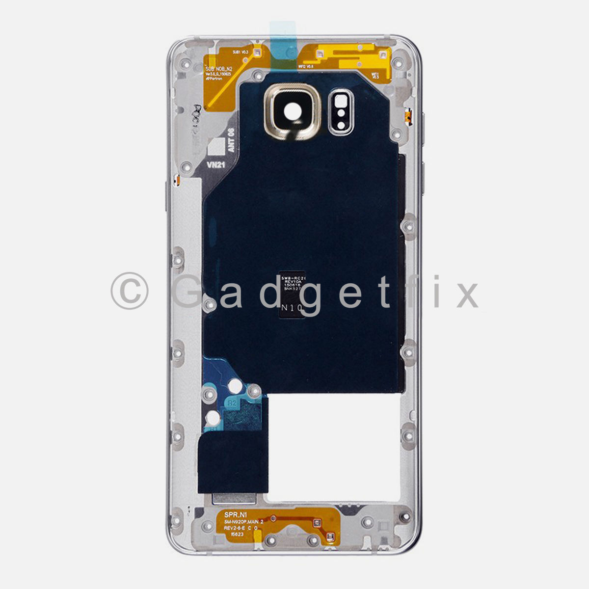 Gold Samsung Galaxy Note 5 N920A N920T N920V N920P Middle Housing Frame Bezel Mid Chassis