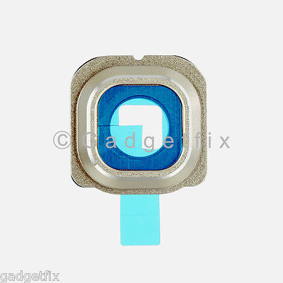 US Gold Samsung Galaxy S6 Edge G925A G925T G925V G925P Camera Glass Lens Cover