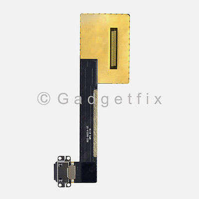 Gray Lightning Charger Charging Port Dock Flex Cable For iPad Pro 9.7 A1673 A1674 A1675