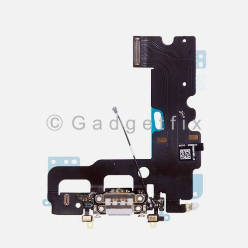 US Gray iPhone 7 Charging Charger Port Flex Cable Mic Antenna Replacement Parts