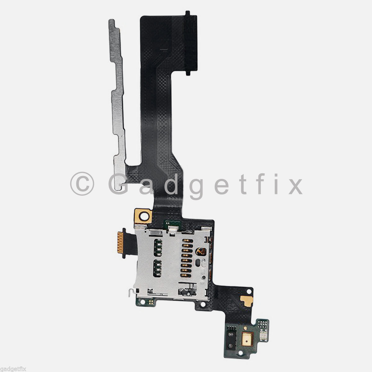 Us htc one m9 sd memory card tray holder slot power volume button flex - Htc One M9 Headphone Audio Jack Charger Charging Micro Usb