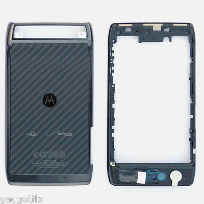 Frame Camera Lens + Back Housing Battery Door For Motorola Droid Razr XT910 XT912