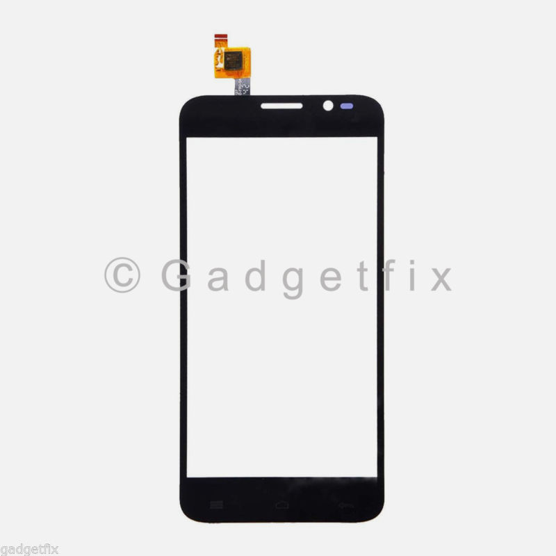 US New Black Touch Screen Digitizer Glass Lens For Blu Dash 5.0 D410 D410A D410i