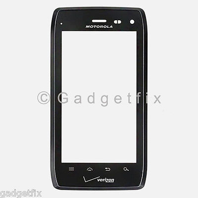 US New Motorola Droid 4 XT894 Touch Screen Glass Digitizer + Front Frame Housing