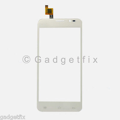 US New White Touch Screen Digitizer Glass Lens For Blu Dash 5.0 D410 D410A D410i