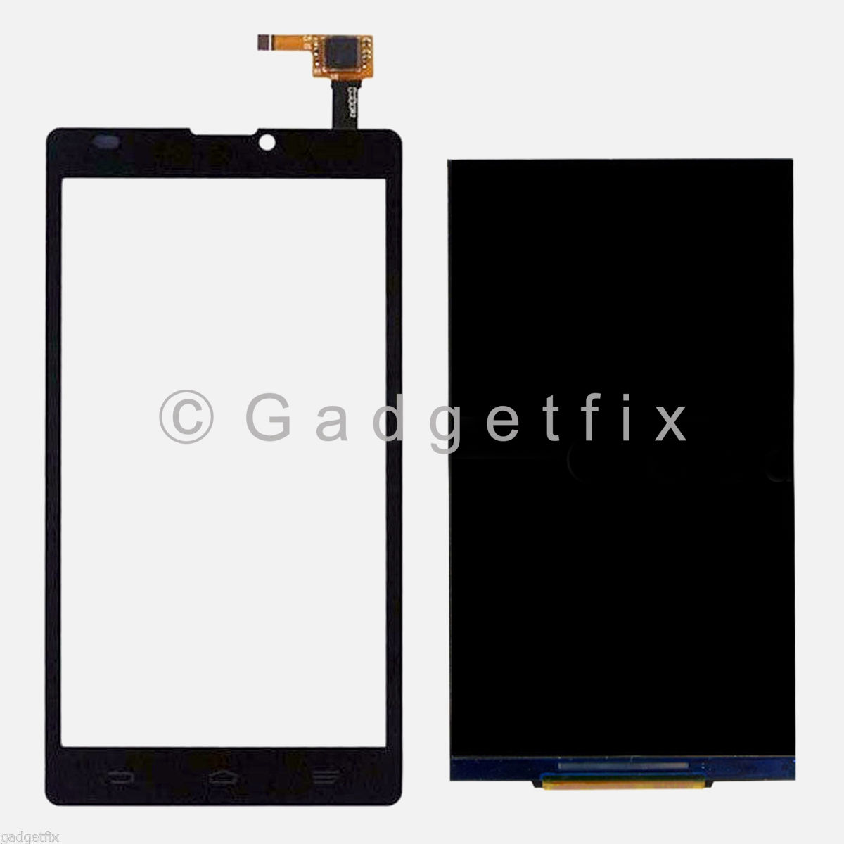 US New ZTE Blade 2 L2 Touch Screen Glass Digitizer + LCD Display Repair Parts