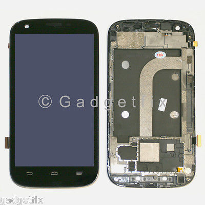 US New ZTE Grand S Pro N9835 Touch Screen Digitizer LCD Display + Frame Assembly