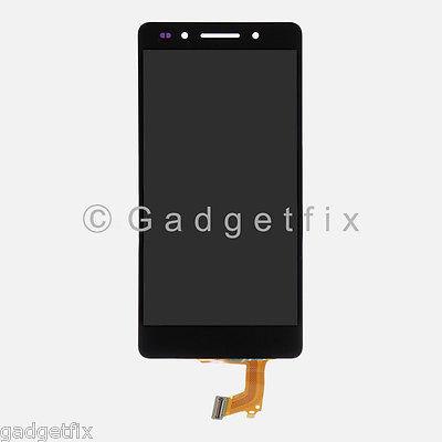 Black Huawei Honor 7 Touch Screen Digitizer Glass + LCD Screen Display