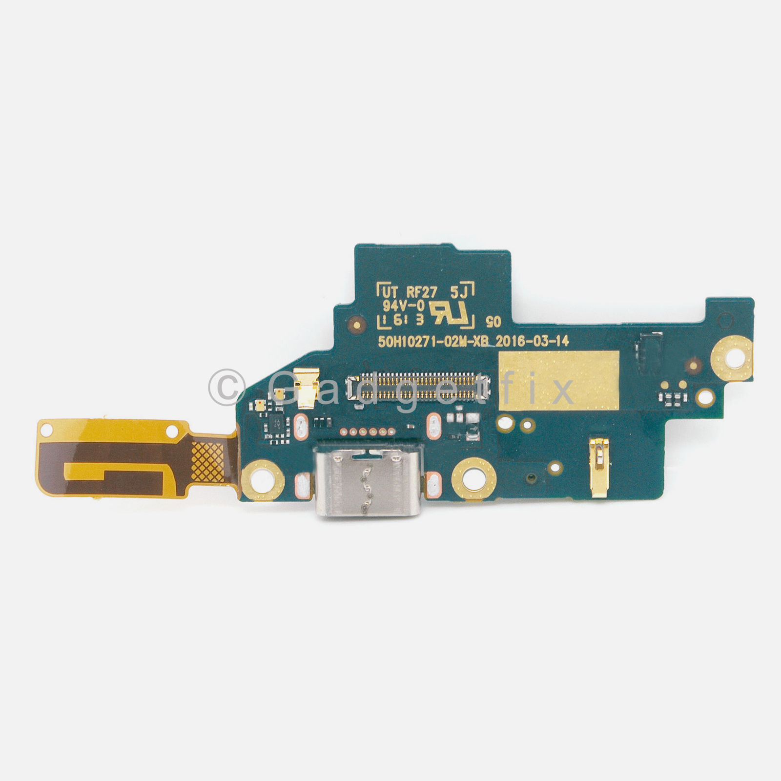 Dock Connector USB Charger Charging Port Flex Cable For Google Pixel 5.0""