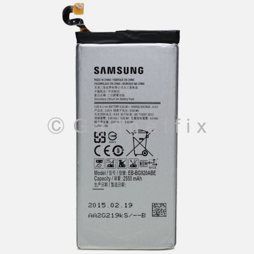 OEM EB-BG920ABE 2550 mAh Internal Replacement Battery for Samsung Galaxy S6