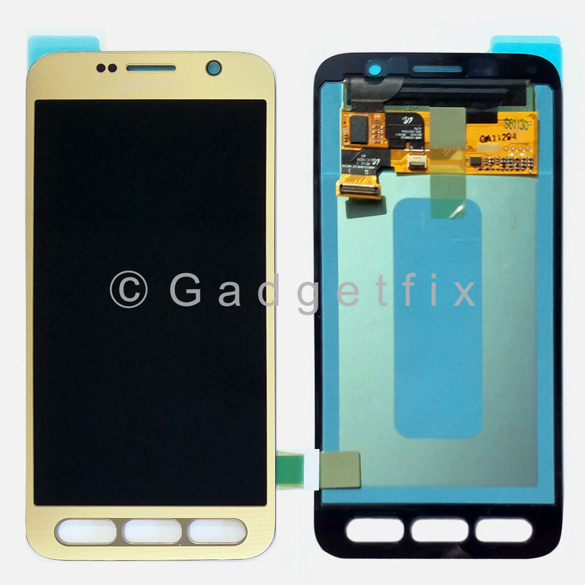 US OEM Gold Samsung Galaxy S7 Active SM-G891A LCD Display Touch Screen Digitizer