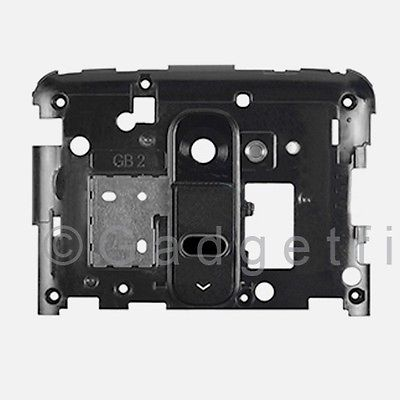 US OEM LG G2 D800 D801 D802 D803 D805 LS980 Back Housing Frame Camera Lens Black