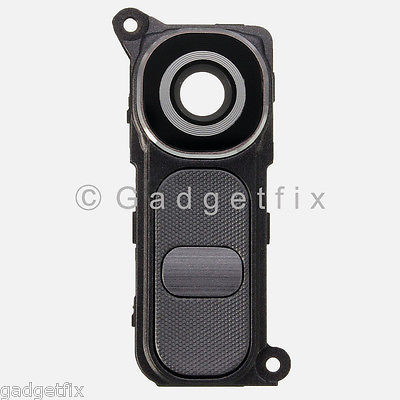 LG G4 H815 H810 H811 VS986 Camera Glass Lens Cover Frame Holder + Button