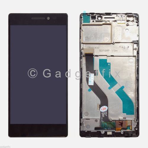 US OEM Lenovo Vibe X2 LCD Display Screen Touch Digitizer Frame Housing Assembly