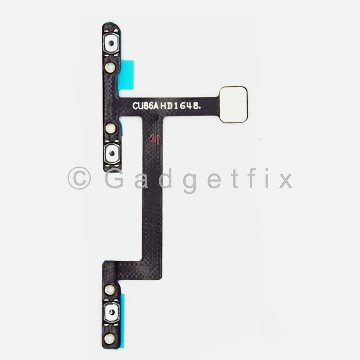 Power Switch Volume Button Flex Cable Replacement Parts For ZTE ZMAX Pro Z981
