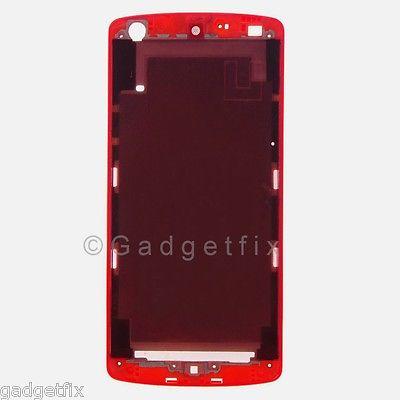 US Red LG Google Nexus 5 D820 LCD Screen Touch Holder Bezel Housing Chasis Frame