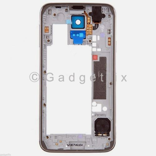 Back Middle Frame Bezel Camera Lens For Samsung Galaxy S5