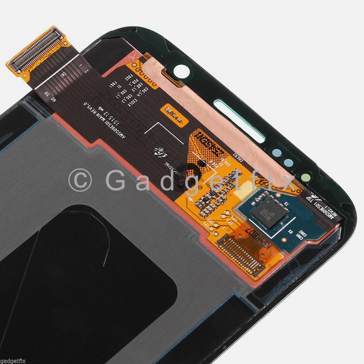 Black Samsung Galaxy S6 G920A G920V G920P G920T LCD Screen + Touch Screen Digitizer