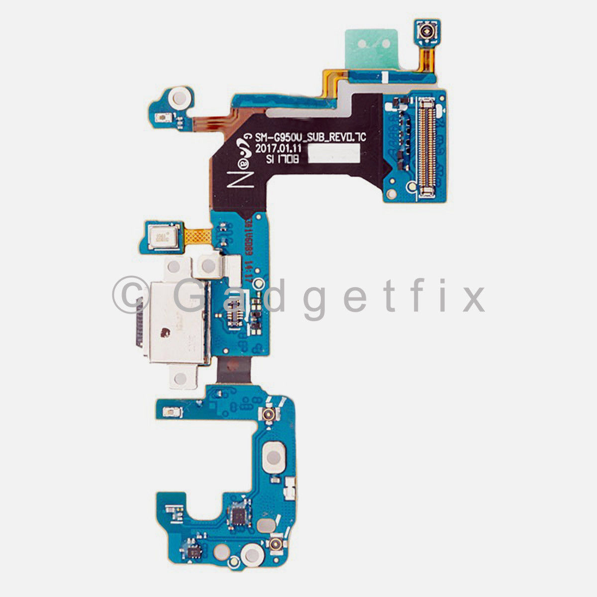 Samsung Galaxy S8 G950U G950A G950T Charger Charging Port Dock Mic Flex Cable