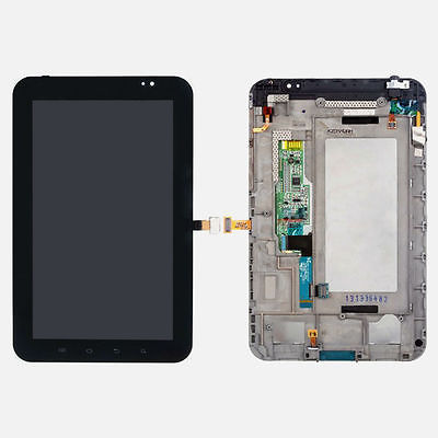 US Samsung Galaxy Tab 7 P1000 LCD Screen Display Touch Screen Digitizer + Frame