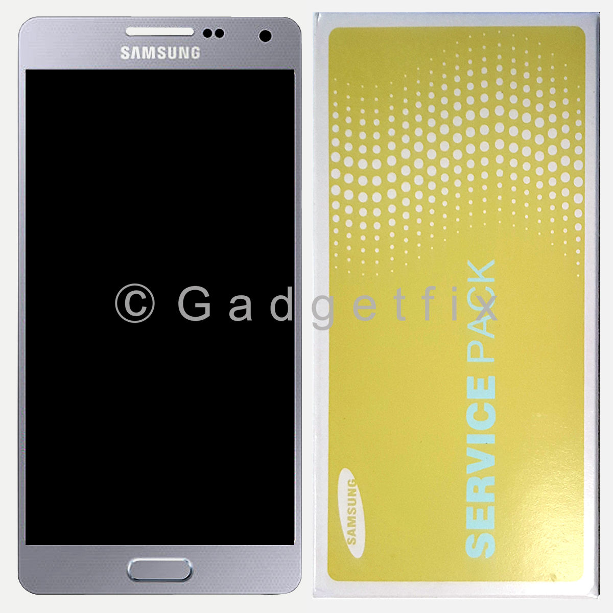 US Silver Samsung Galaxy A5 A500 A500X A500F LCD Screen + Touch Screen Digitizer