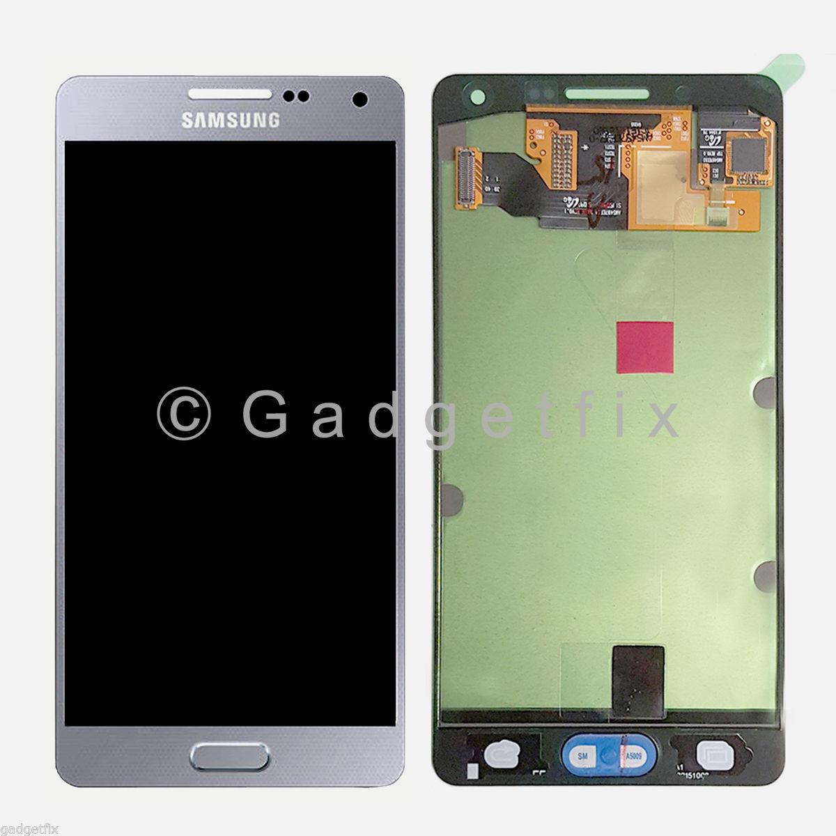 US Silver Samsung Galaxy A5 A500 A500X A500F LCD Display ...