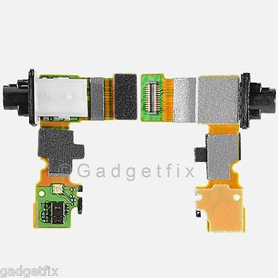 US Sony Xperia Z1S C6916 C9616 Headphone Headset Jack Audio Connector Flex Cable