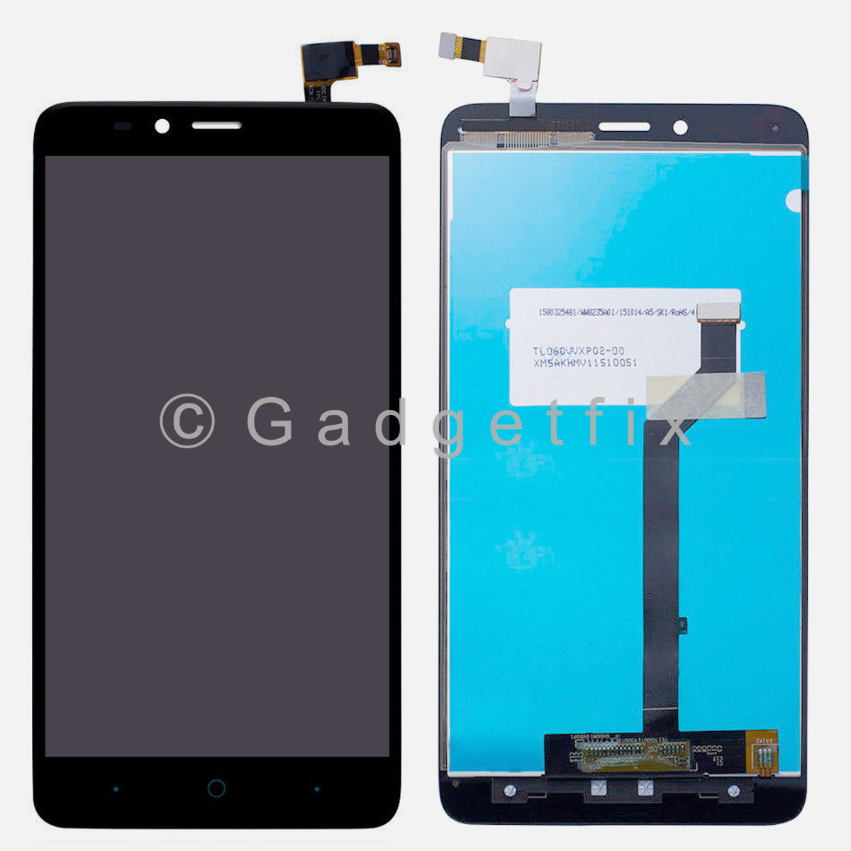 Touch Screen Digitizer LCD Display For ZTE Imperial MAX Duo LTE Z963 Z963VL Z962BL