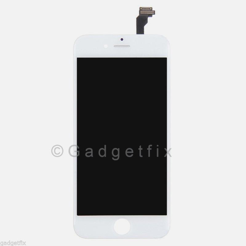 White LCD Screen Display + Touch Screen Digitizer + Frame Assembly for iphone 6
