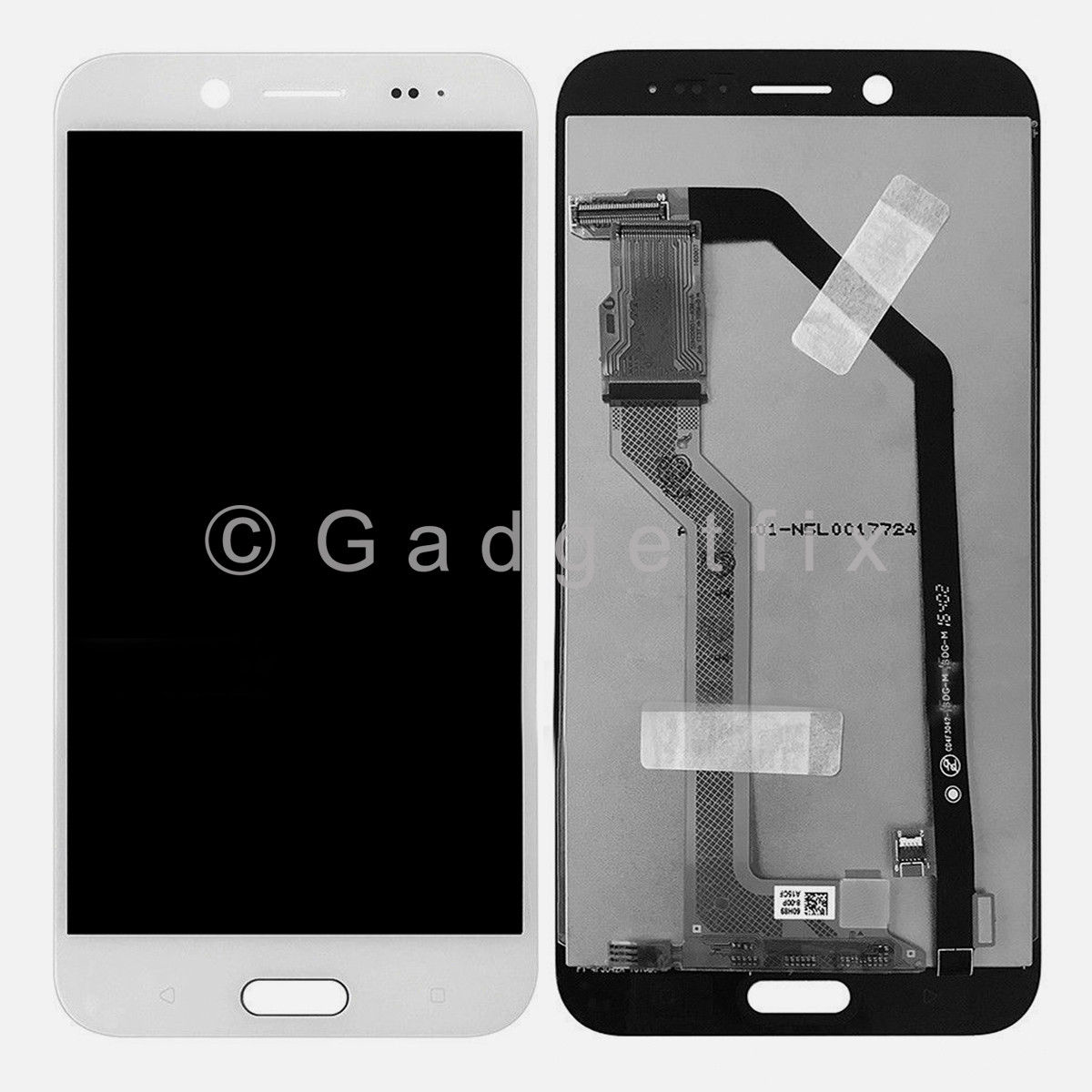 White LCD Display Screen Touch Screen Digitizer Replacement Part For HTC Bolt