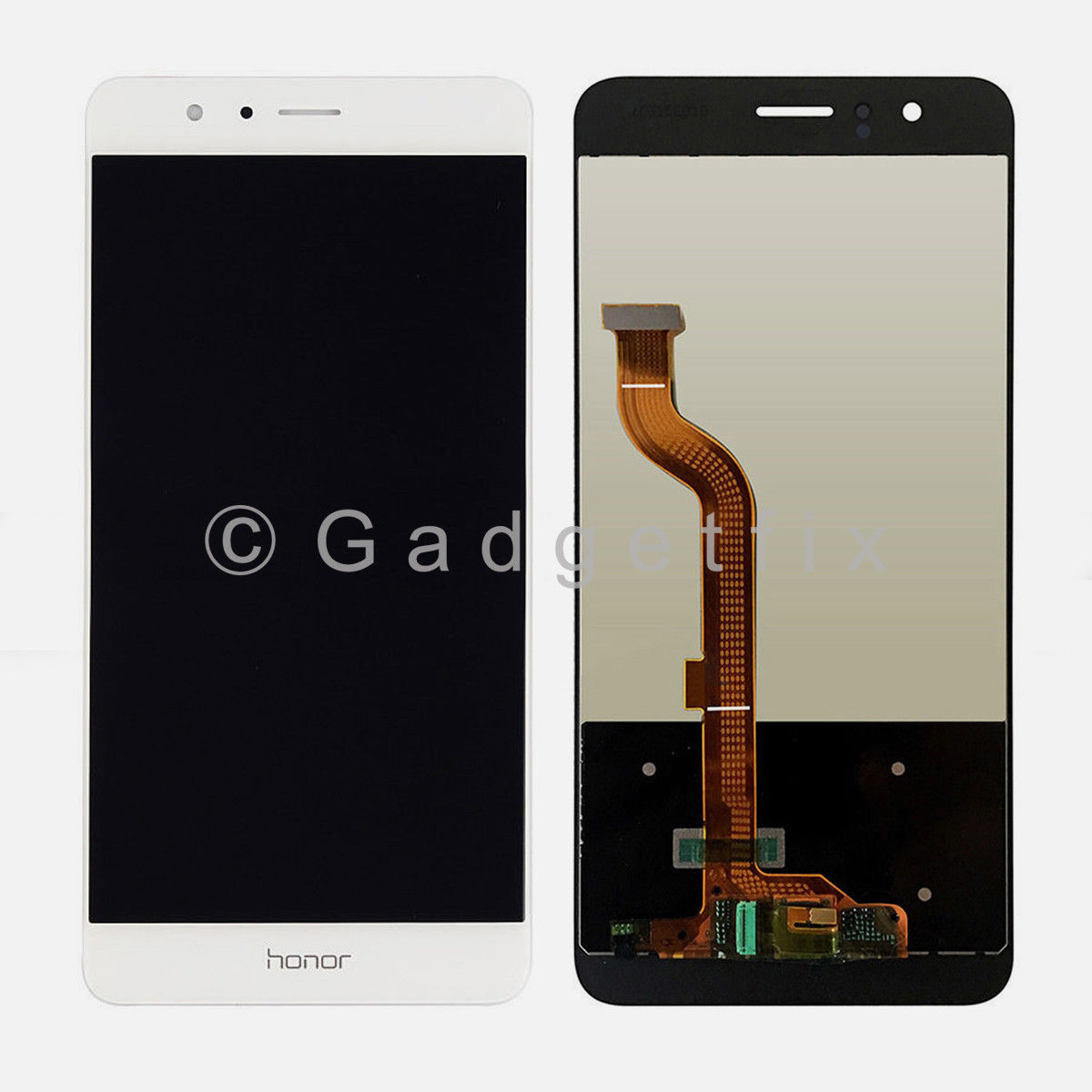 US White LCD Display Touch Screen Digitizer Replacement Parts For Huawei Honor 8