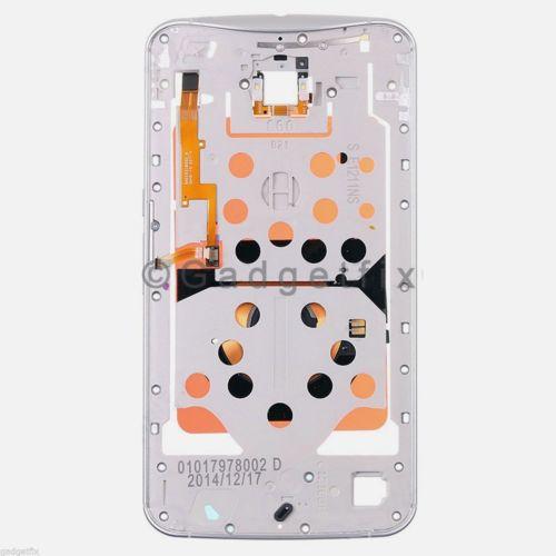 US White Motorola Google Nexus 6 XT1100 XT1103 Middle Plate Bezel Frame Housing