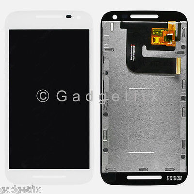 US White LCD Touch Screen Digitizer For Motorola Moto G 2015 3rd Gen XT1552 XT1550