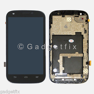 US ZTE V9820 Warp Sync N9515 LCD Display Touch Screen Digitizer + Frame Assembly