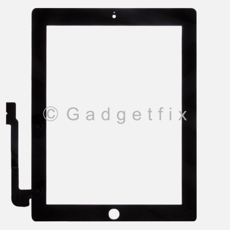 US iPad 3 3rd Gen Generation Compatible Touch Screen Panel Glass Digitizer Lens