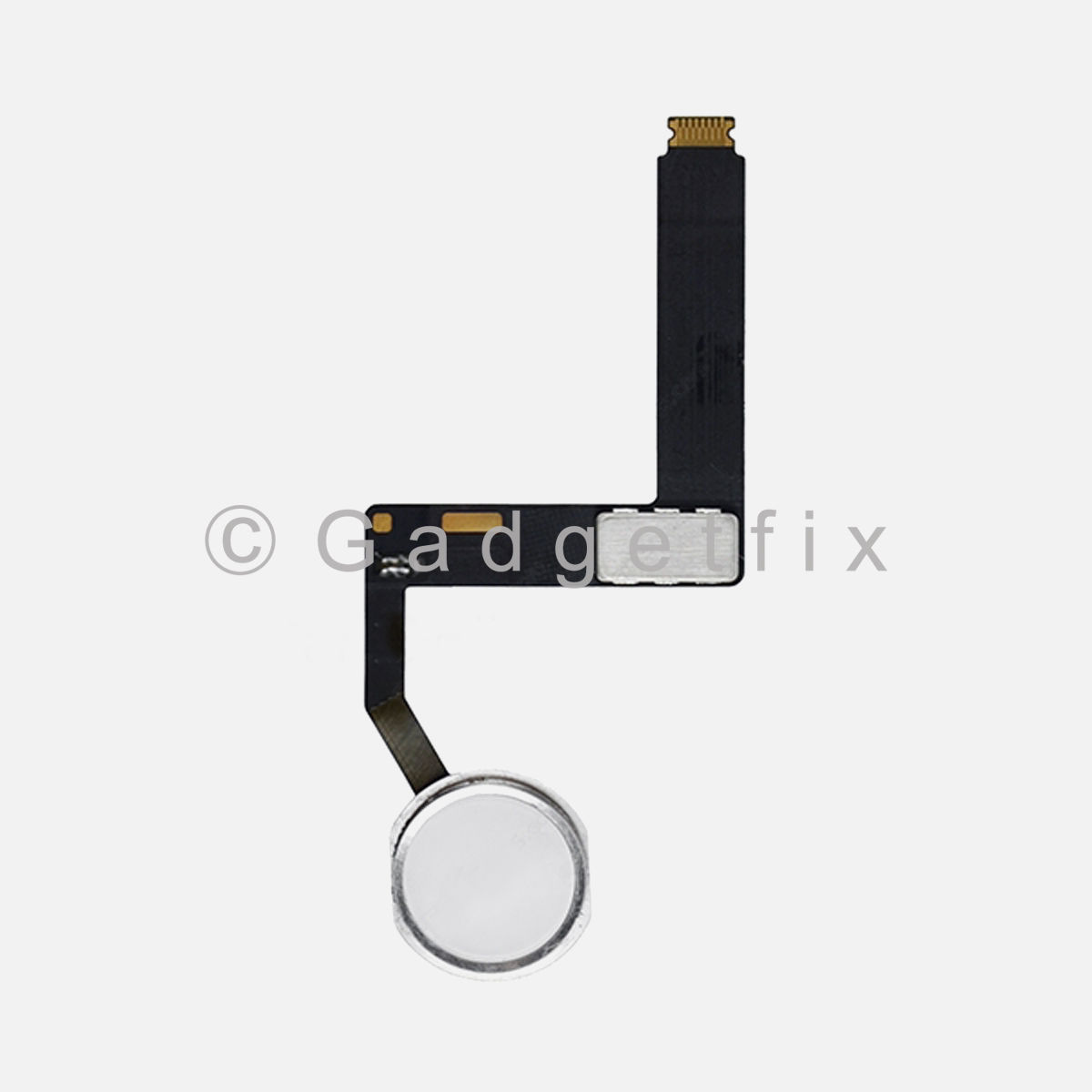 US iPad Pro 9.7 A1673 A1674 A1675 Silver Home Menu Button Flex Cable Replacement