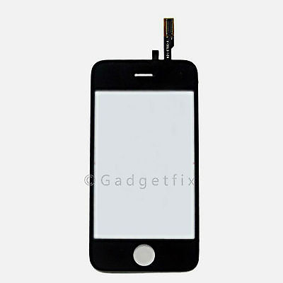 US iphone 3G Compatible Front Panel Glass Touch Screen Digitizer + Adhesive