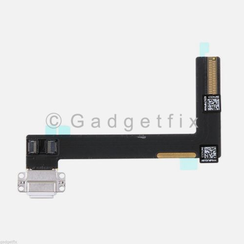 White Apple iPad Air 2 Charger Charging Port Dock Flex Cable Lightning Connector