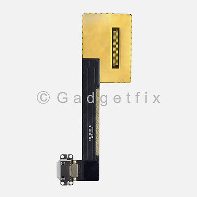 White Lightning Charger Charging Port Dock Flex Cable For iPad Pro 9.7 A1673 A1674 A1675
