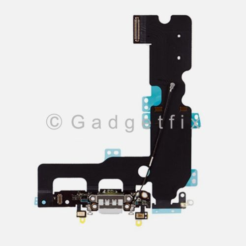 White Charging Charger Port Flex Cable Mic Antenna Replacement For iPhone 7 Plus