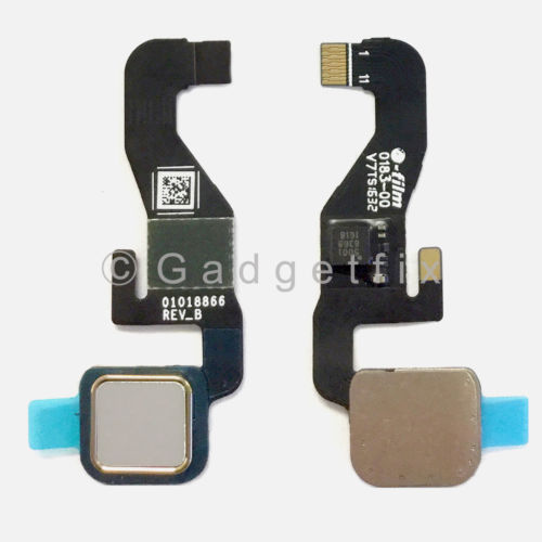 White Home Button Flex Cable for Motorola Moto Z XT1650-03 | Z  Droid XT1650-01